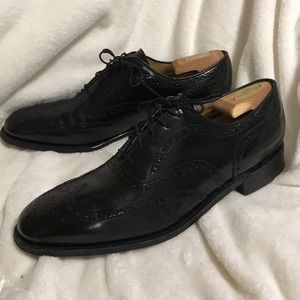Johnston and Murphy Greenwich Wingtip Dress Shoes